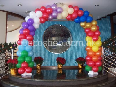 arrow-pattern-balloon-arch
