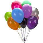 Helium balloon self pick up offer